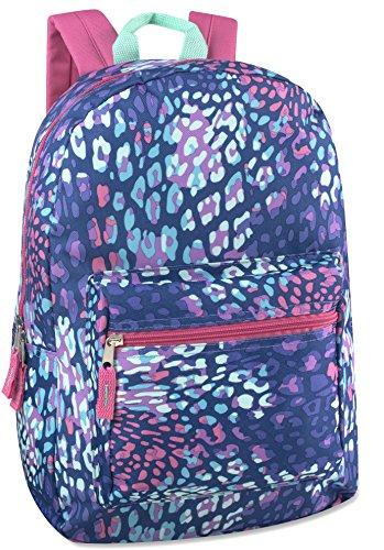 17'' Trailmaker Backpack Bookbag- animal 4615 by Trail maker (Image #1)