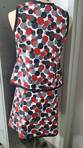Vest Guard & Skirt Guard Combo, Regular Lead, X-Ray Apron, 0.5mm Pb Lead Equivalency, Medium, Lots O Dots by Techno-Aide Inc (Image #4)