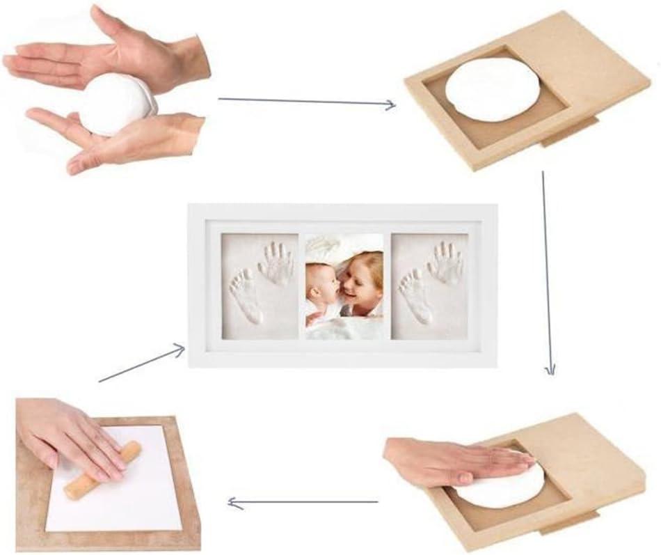 fait un parfait souvenir et un cadeau de douche de b/éb/é deco bebe Joyeee kit empreinte b/éb/é #4 Cadre b/éb/é cadeau bebe empreinte de b/éb/é