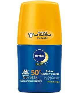 NIVEA Sun - Roll On crema solar Hidratante Protege & Hidrata FP50 ...