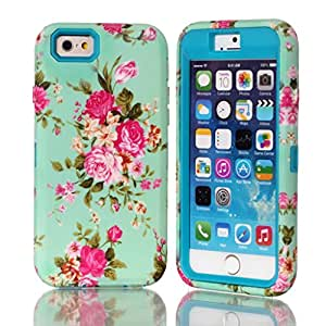 """iPhone 6,iPhone 6 (Plus"""")cover,Ezydigital Carryberry for iPhone 6,Hybrid Case Cover for iPhone 6 (Sky Blue)"""