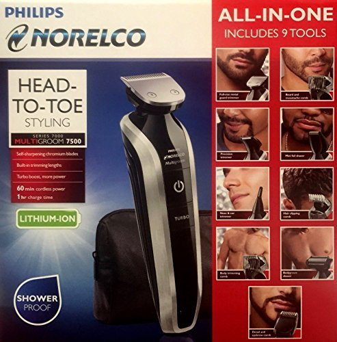 Philips Norelco Multigroom Pro Trimmer Series 7500 by Philips Norelco