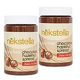 nekstella 16 oz jar Sugar Free Low Carb Chocolate Hazelnut Spread - (2 pack)