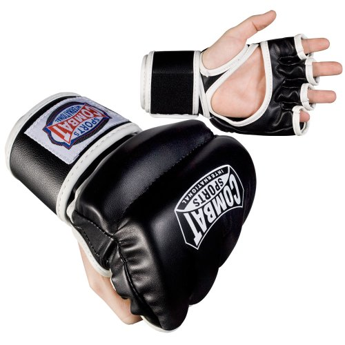 Combat Sports MMA Hybrid Sparring Gloves - Sports Mma Hand Wrap Combat