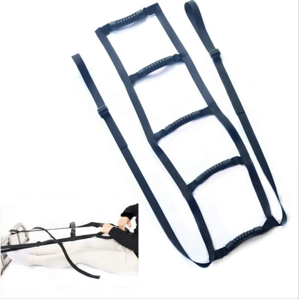 Cama Escalera de seguridad Asistente correas, Dispositivos Asistencia Tren cama, Soporte ajustable de la ayuda de la cuerda, duradero ancianos, discapacitados, tres apretones de la mano ergonómico: Amazon.es: Deportes y aire libre
