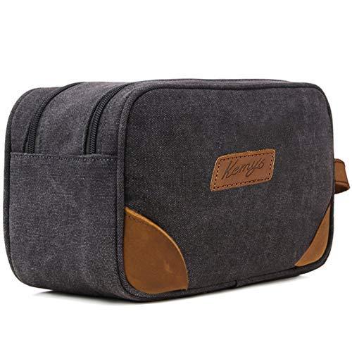 077241e843 Kemy s Toiletry Bag Mens Bathroom Tolietree Travel Bag Grooming Shaving Bags  for Men Dopp Dob Dobb