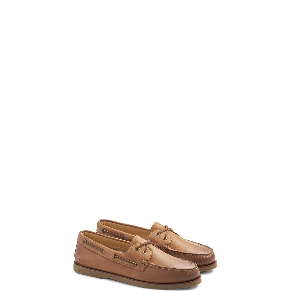 Sperry Men's Gold A/O 2-Eye Ginger 13 W US by Sperry (Image #1)