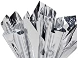 Metallic & Opal Cello Wrap - Bulk Metallic Silver Sheets Approx. 300 Sheets 18''x30'' .48 Gauge (300 sheets) - WRAPS - MSMSI