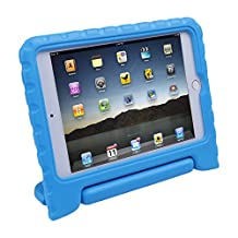 HDE iPad Mini 4 Case for Kids with Stand Protective Shock Proof Convertible Lightweight Cover for 4th Generation Apple iPad Mini 4 - 2015 Release (Blue)