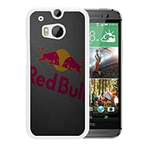 Unique And Lovely Custom Designed Case For HTC ONE M8 With New York Red Bulls 5 White Phone Case