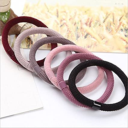 Amazon.com  usongs Not hurt high fat rubber band hair rope girl hair tie  ring Tousheng headdress hair accessories rubber apron special children  stretch  ... 5fbee9ba7cc
