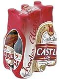 Castle Lager Bier, 330 ml 6 Flaschen