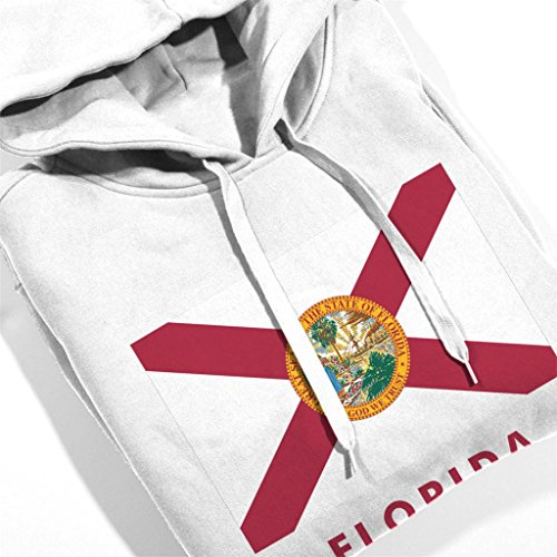 Flag Flag Florida State Sweatshirt Women's Coto7 White Hooded Hooded Hooded z6Hx0wq8