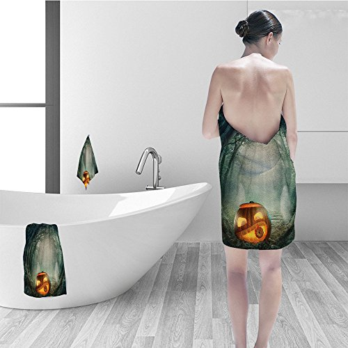 Nalahomeqq Bath towel set Forest Fairy Decorations Big