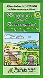 WK Monschauer Land: Wanderkarte Nr. 3 des Eifelvereins