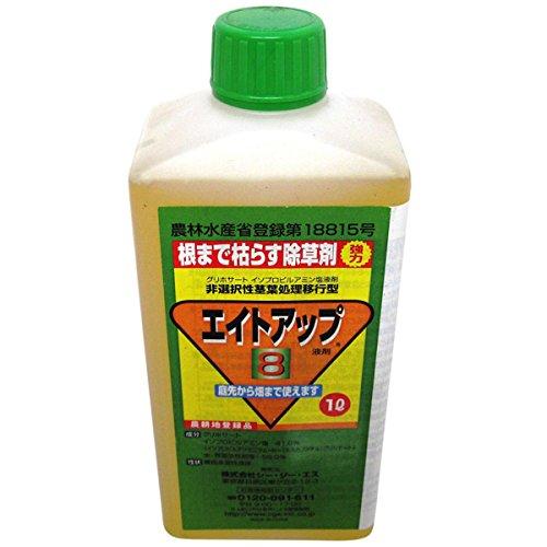 グリホサート系 除草剤 エイトアップ 1L 12入 【濃縮-薄めて使うタイプ】 B01543NASQ