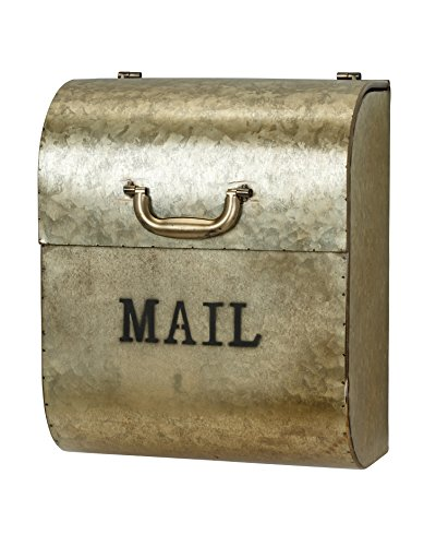 AdirHome Steel Medallion Gold ''Briefcase'' Mailbox by AdirHome