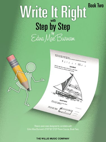 Write It Right - Book 2: Written Lessons Designed to Correlate Exactly with Edna Mae Burnam