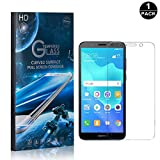 Huawei Y5 2018 Tempered Glass Screen Protector, UNEXTATI® Premium HD [Easy Install] [Anti-Fingerprint] Screen Protector Film for Huawei Y5 2018 (1 PACK)