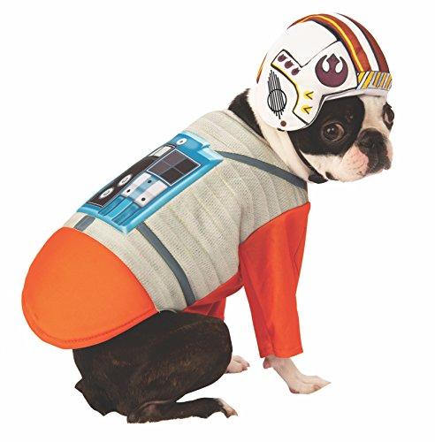 Rubie's Star Wars X-Wing Pilot Pet Costume, (Ewok Costume Dog Video)