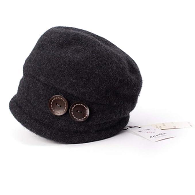 0ce1c9d389b3 WPSLEDLOL Sombreros de Invierno para Mujer Gorros Sombrero de Punto ...
