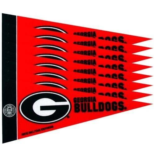 Georgia Bulldogs Mini Pennants - 8 Piece (Georgia Bulldogs Pennant)