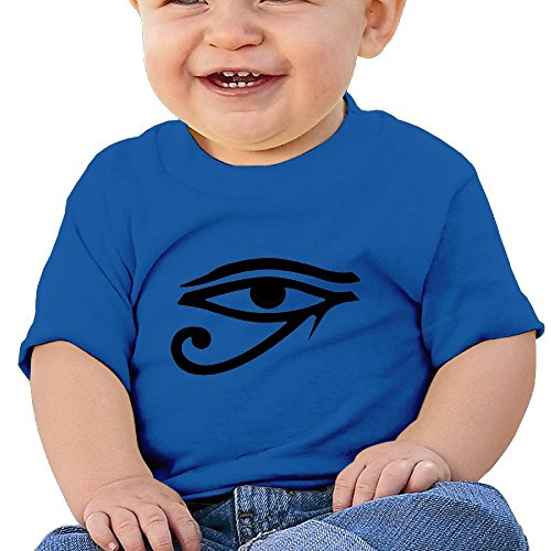 Kim Lennon Eye Of God Way Baby Comfortable Tee RoyalBlue Size 12 Months
