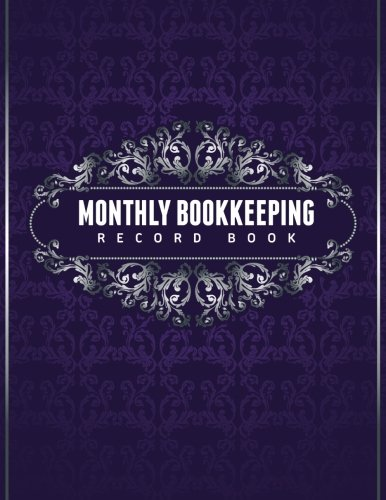 Monthly Bookkeeping Record Book PDF