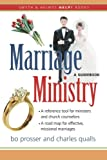 Marriage Ministry, Bo Prosser and Charles Qualls, 157312432X