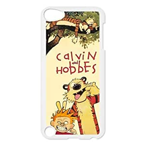 Hard Plastic Protector Calvin and Hobbes Snap On Cover Case For Ipod Touch 5,5th Generation,Fashion Protection Calvin and Hobbes Design Hard Cover Case For iPod Touch 5th Generation