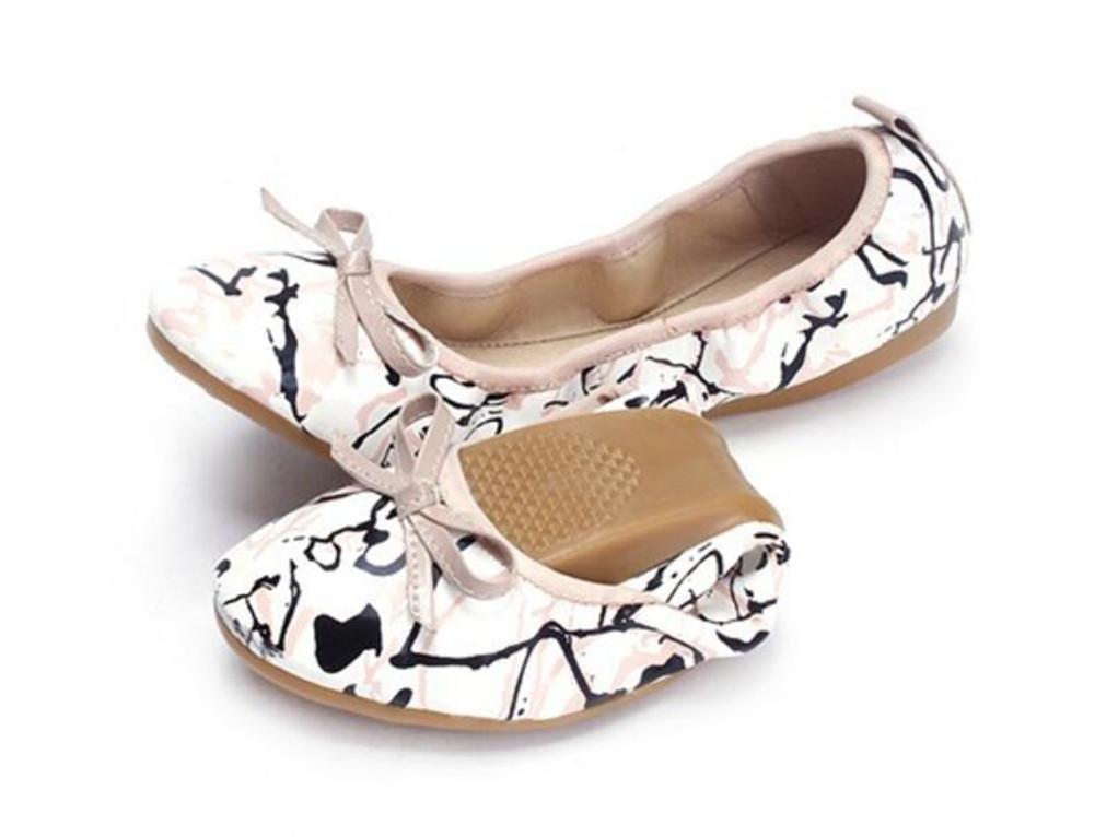 XIE Flache Einzelne Schuhe der Ei-Rolle beiläufige Aufladungen der Frauen