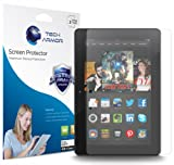 Kindle Fire HDX Screen Protector, Tech Armor High Definition HD-Clear Amazon Kindle Fire HDX 8.9 (2013) Film Screen Protector [2-Pack]
