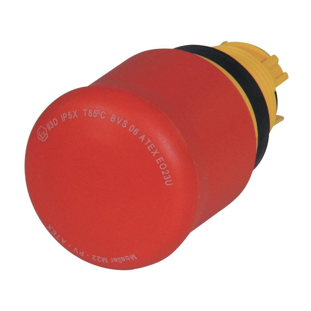 E-Stop Pushbutton Operator, Red, 22mm