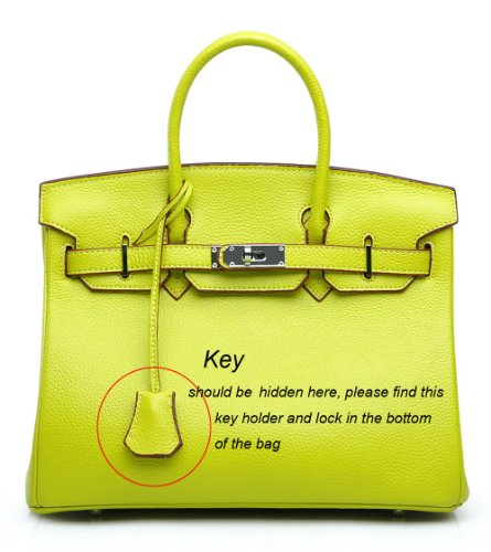 price of birkin bag - Bagroo Genuine Leather Handbag Padlock Handbags Satchel Padlock ...