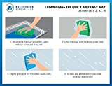 Microfiber Glass Cleaning Cloths - 8 Pack | Lint