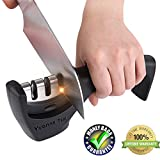 knife sharpener machine with handle, kitchen knife sharpner Review and Comparison
