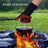Mosteck Heat Resistant Gloves Up to 1472℉, Hot