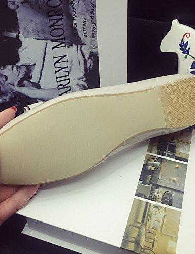 rojo Classic eu39 tacón red cerrado mujer gris casual cn39 zapatos de la uk6 elegante Toe zapatos us8 negro PDX de Flats 6nw8CUqxdU