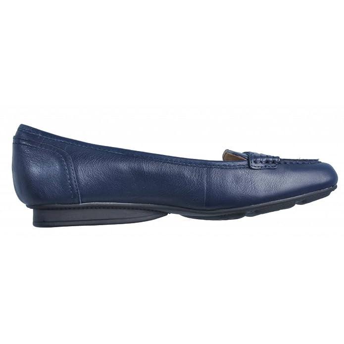 Mocasines para Mujer, Color Azul, Marca GEOX, Modelo Mocasines para Mujer GEOX 51263 Azul: Amazon.es: Zapatos y complementos