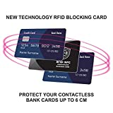 2 x RFID Blocking Card | NFC Contactless Cards