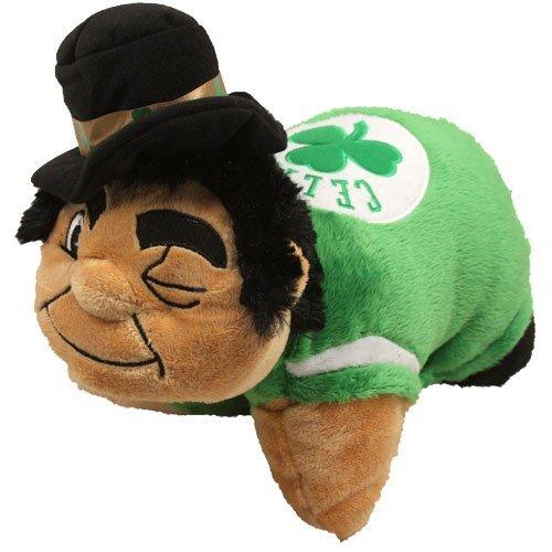 Fabrique Innovations NBA Boston Celtics Mini Pillow Pet, Medium, Green