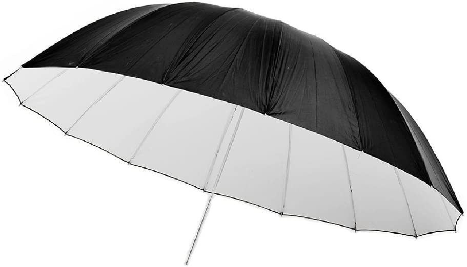 【DIGITAL TRIP】 150cm 撮影黒白アンブレラのサムネイル画像