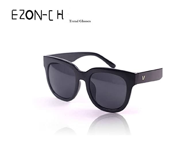 790f062be9f6 Amazon.com  EZON-CH South Korea S Gentle Monster From The Stars You Qianson  sunglasses Block Paragraph Yi To Together  Sports   Outdoors