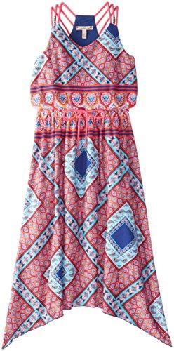 Speechless Big Girls' Bandana Print Dress