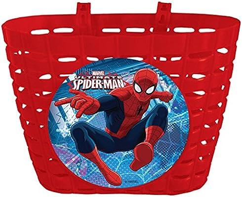Cesta Delantera compatible con Spiderman Infantil Niño Niña a ...