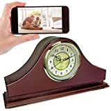 Spy-Max SG Home CVR Mantle Clock Hidden Camera w/WiFi Cloud Video Recording