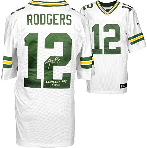 Aaron Rodgers Autographed Jersey (Aaron Rodgers Green Bay Packers Autographed Nike White Elite Jersey with