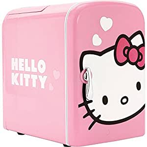 Hello Kitty Personal Thermoelectric Mini Fridge Refrigerator