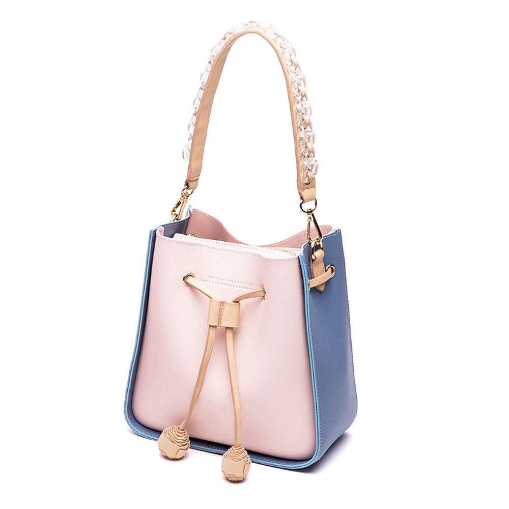 Lzth Simple and Fashionable Fashion, Versatile Shoulder Bag, All Kinds of Shopping, Shopping, Large-Capacity, Daily Necessities (Color : A) by Lzth