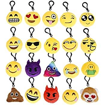 Amazon.com: OHill Emplu-23 Emoji Plush Bean Bag in Pdq: Home ...